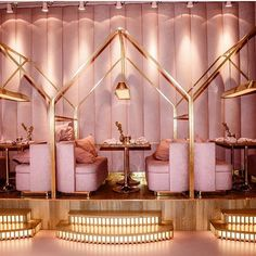 Home Decoration Shops Near Me Code: 4928303844 Salon Interior Design, Boutique Interior, Restaurant Interior Design, Café Design, Store Design, Deco Cafe, Pink Cafe, Deco Restaurant, Beauty Salon Decor