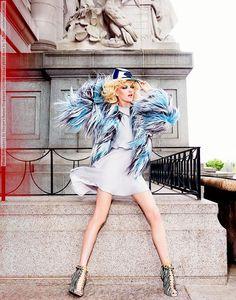 Vlada Roslyakova for Harper's Bazaar Singapore (October 2014) photo shoot by Yu Tsai  #DomingoQuintero #Harper'sBazaar(Singapore) #KennethGoh #VladaRoslyakova #WalterObal #YuTsai