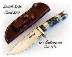 """Randall Knife Model 25-5 """"Trapper"""""""