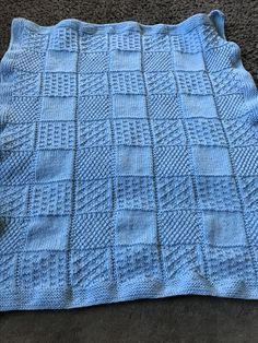 Baby blanket just finished !!