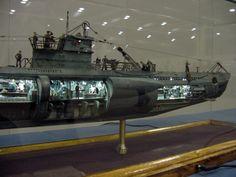 Great u-boat model.