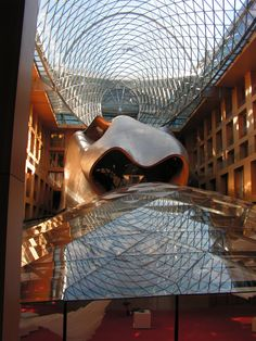 DZ Bank, Frank Gehry, Architect #gehry
