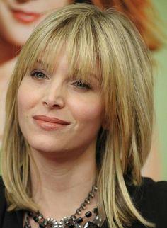 coole mittellange blonde haare frisuren für frauen