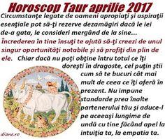 Horoscopul Taurului aprilie 2017 vesteşte o revizuire necesară a relaţiilor de prietenie şi a obiectivelor principale, dezideratul de a te e... Blog, Blogging