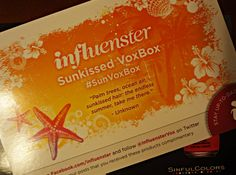 Sunkissed VoxBox from @Influenster!