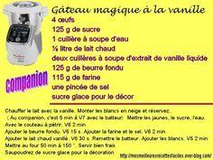 gâteau magique à la vanille (au companion... ou pas)
