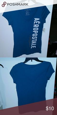 Aeropostale Bluish green Aeropostale shirt brand new. The size medium. Aeropostale Tops Tees - Short Sleeve