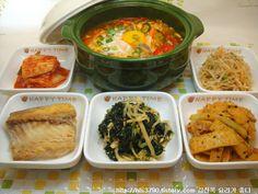 30 minute meal - soup and banchan!!! 30분만에 후딱 만든 소박하고 저렴한 밥상 *^^*