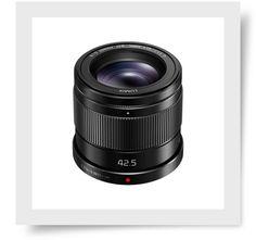 Objectif Panasonic Lumix G 25mm f//1.7 Lens ASPH noir
