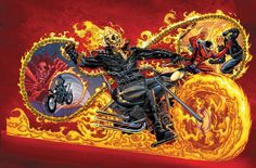 Marvel Universe Ghost Rider by *bennyfuentes on deviantART