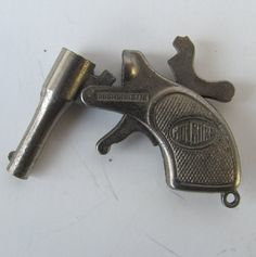 mini Antique gun  Fob cap gun pistol dudes by AntiqueJewelrySupply, $50.00