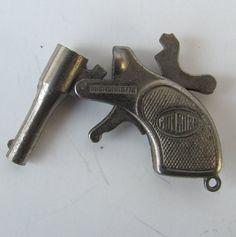 mini Antique gun Fob cap gun pistol dudes by AntiqueJewelrySupply, $50.00