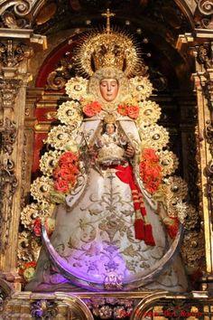 La Virgen del Rocío. Almonte (Huelva) Spain