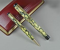 Pen Pen, Luxury Pens, Mechanical Pencils, Writing Instruments, Fountain Pens, Lettering, Vintage, Accessories, Fountain Pen