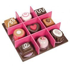 Box of Wooden Chocolates