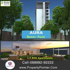 Aura By Bhandari Associates for Living amidst Luxurious Life in Baner Pune