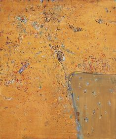 Artwork by Fred Williams, Werribee Gorge II, Made of oil on canvas Abstract Landscape, Landscape Paintings, Abstract Art, Landscapes, Fred Williams, Encaustic Art, Painting Lessons, Australian Artists, Art Auction