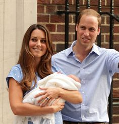24-jul-13 - The Duke and Duchess of Cambridge are delighted to announce that they have named their son George Alexander Louis.