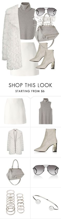 """Untitled #2967"" by angieswardrobe ❤ liked on Polyvore featuring Valentino, The Row, Topshop, Givenchy, Yves Saint Laurent, Forever 21, Maison Margiela, women's clothing, women's fashion and women"
