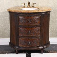 Single Vanities - Style: Traditional, Number Of Sinks: Single | Wayfair