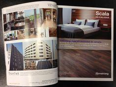 """Campaña para dar a conocer la marca de pavimentos de Armstrong, Scala. Con varias piezas de comunicación bajo el """"paraguas"""" Scala es Calidad"""". En este caso es un anuncio para el sector de hostelería."""