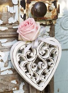 Lovely Filigree Heart