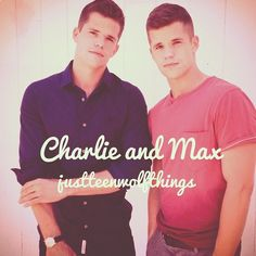 Teen Wolf Alpha Twins Max Carver and Charlie Carver