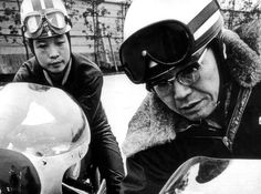 Happy birthday to Soichiro Honda, founder of Honda Motor Co. [IMG] Soichiro Honda was born on November in Komyo Village (now Tenryu City),. Honda Motors, Honda Bikes, Racing Helmets, Racing Motorcycles, Soichiro Honda, Motorcycle Manufacturers, Extraordinary People, Road Racing, Vintage Racing