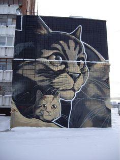 Street art #cat