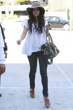 Vanessa Hudgens is the queen of casual yet chic