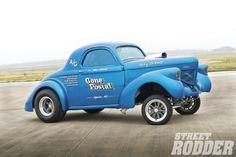 Now 57, Jim Hunt chased this 1939 Willys coupe for 20 years before he could purchase it. He first saw it in Oklahoma in 1985 with a