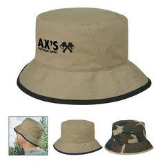 89f920b7028 Cotton Twill Bucket Hat Custom Bucket Hats