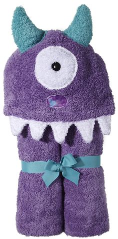 Yikes Twins Child Monster Hooded Towel