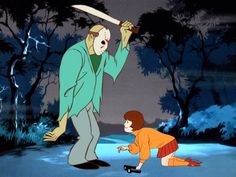 If Famous Horror Movie Villains Were The Bad Guys In 'Scooby Doo' - Jason Voorhees (Friday the Horror Cartoon, Horror Icons, Horror Comics, Funny Horror, Jason Voorhees, Hanna Barbera, Live Action, Scooby Doo Mystery Inc, Horror Villains