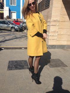 Выкройку пальто взяла из номера 11/2014 мод. 104 и смоделировала её под свою идею