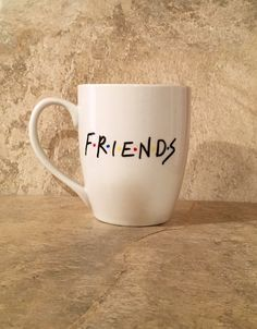 Friends TV Show Coffee Mug Gift for Friends Friends by TheCozyPup