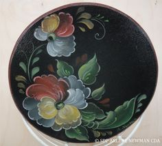 Paint 'Telemark Rosemaling on Basket Lid' with Arlene Newman CDA at the 2013 SDP Conference!  http://www.decorativepainters.org/conference/proddetail.php?prod=0600  decorativepainters.org  Learn to paint with us! With our step by step pattern based designs, anyone can become a Master Decorative Artist.
