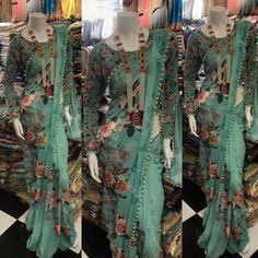 _Saree Fabric: * Pure Georrgte With Digital Print*_ _Saree Size : Meter_ _Blouse Fabric : *Georrgte Printed *_ _Description : All Over Digital Printed With Moti Lace_ _Colour Option : Single_ _Occassion : Party Wear,Regular Wear_ Lace Saree, Organza Saree, Silk Lehenga, Saree Dress, Dhoti Saree, Sabyasachi Sarees, Saree Floral, Pure Georgette Sarees, Bollywood Saree