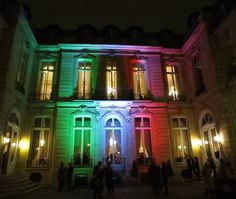 AMBASSADE D' ITALIE  PRIVATE PARTY
