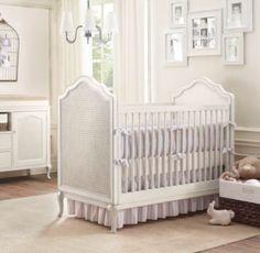 LOVE this crib! Adele Crib | Cribs & Bassinets | Restoration Hardware Baby & Child