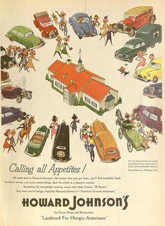 Howard Johnson's Ad