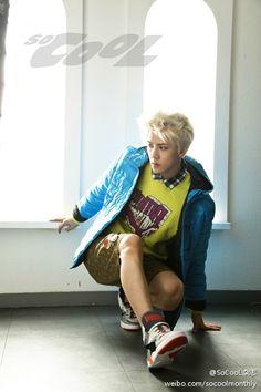 EXO 2013 so cool(쏘쿨) 10월호 개인컷 :: 여린 바람을 타고-