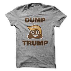 Dump Trump - #red shirt #long hoodie. OBTAIN => https://www.sunfrog.com/Political/Dump-Trump-74618252-Guys.html?68278