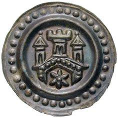Königliche Münzstätte Ravensburg. Rudolf von Habsburg (1273-1291). Pfennig ( 1275-1281). 1275 - 1281. Ø 2,14 cm 0,5 g. Silber.