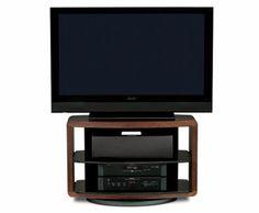 BDI's Valera 9723 TV Stand in Chocolate Stained Walnut #hometheater #furniture #TVstand