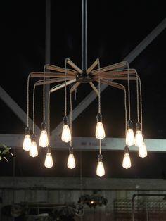 Hanging Fan Light Fixture