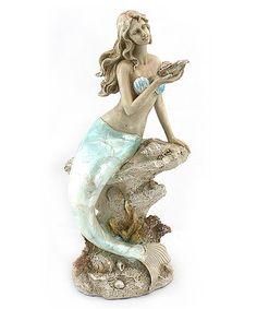 Love this Sun-Bathing Mermaid II Figurine on #zulily! #zulilyfinds