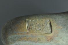 Bollo anfora greca, III secolo a.C. Bollo sul manico di anfora greca. Collezione privata