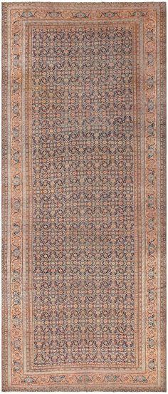 Antique Tabriz Carpet, Persia, 1900  7 ft 8 in x 17 ft 2 in (2.34 m x 5.23 m)