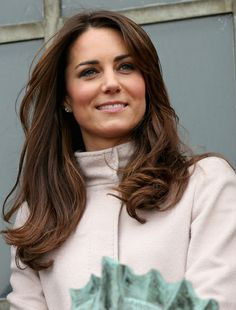 long haircuts with layers - Kate is a classic choice
